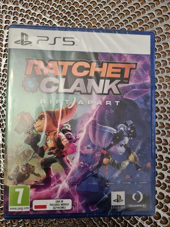 Sprzedam nową grę Ratchet and Clank:Rift Apart PS5 w folii