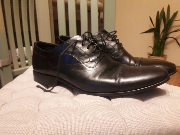 buty męskie wizytowe / ślubne Pilpop 43 czarne