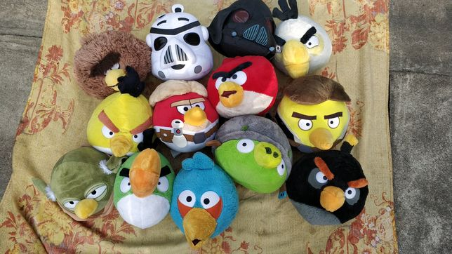 Angry Birds pluszaki