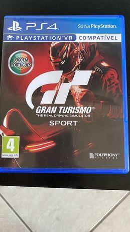 Gran turismo sport Ps4 (VR COMPATIVEL)troco dragon ball kakarot
