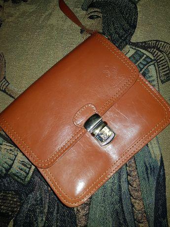Шикарная сумка  натуральная кожа