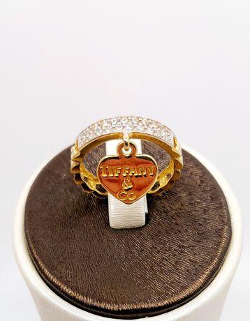 Złoty pierścionek próba 585 Rozmiar 12.5