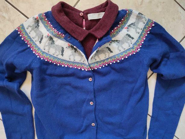 Mini Boden Zara zestaw dziewczęcy 146/152