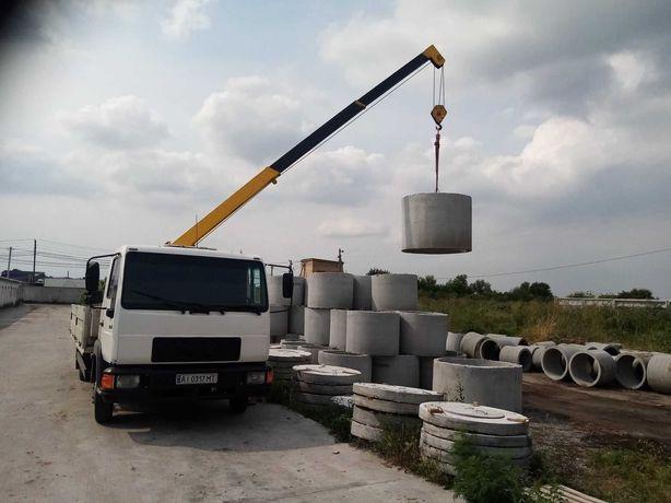 Кольца бетонные Запрудье / жб кольца / домики / доставка / монтаж