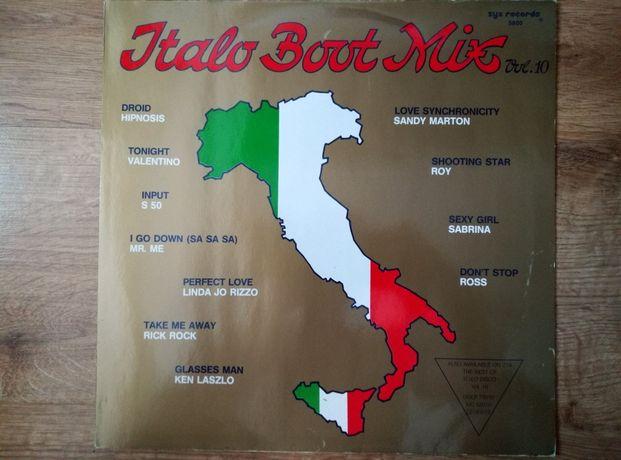 Italo Boot mix vol. X winyl.