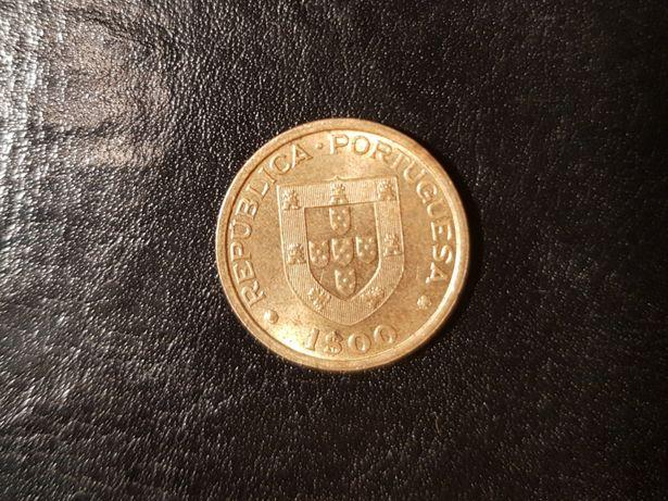 Moeda 1$00 1982 Mundial de Hoquei RARA