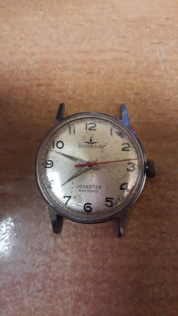 Zegarek,męski Dugena Jongster 17j.Swiss,mechaniczny.