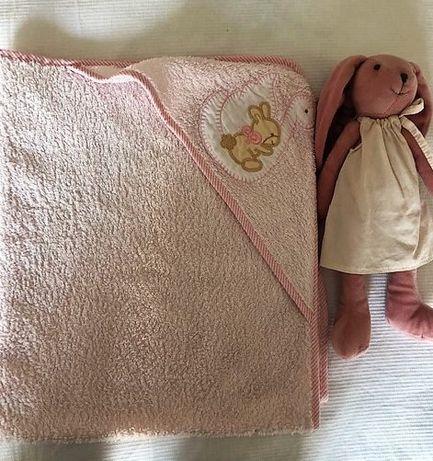 Toalha de banho de bebé com capuz (Marca Pré-Natal)