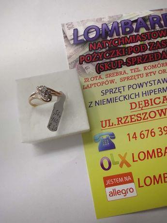 Złoty pierścionek PR.585 Waga 2,56g r.20 ! Lombard Dębica