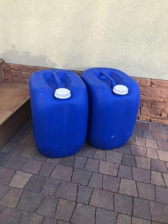 Czyste kanistry 20L 25L 30L, idealne na wodę, paliwo, itp...