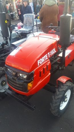Минитрактор Форте Т-160 L + в комплекте фреза и плуг. Forte . Гарантия