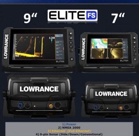 Эхолот Lowrance Elite 9 FS Active Imaging 3в-1.Бесплатная Устоновка