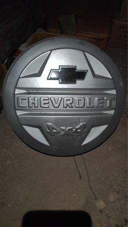 Чехол запаски Chevrolet нива.бампер Nissan X-Trail T-31 2013г