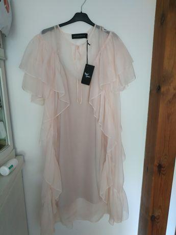 NOWA sukienka z falbankami