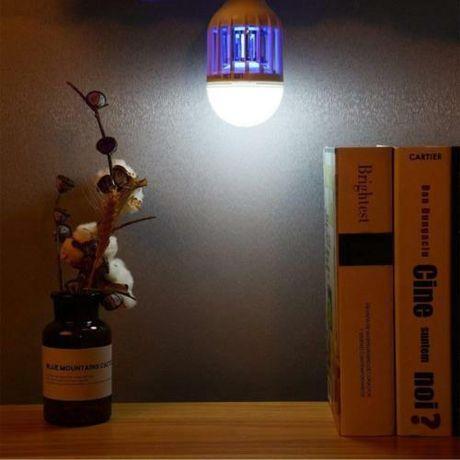 Светодиодная лампа уничтожитель насекомых