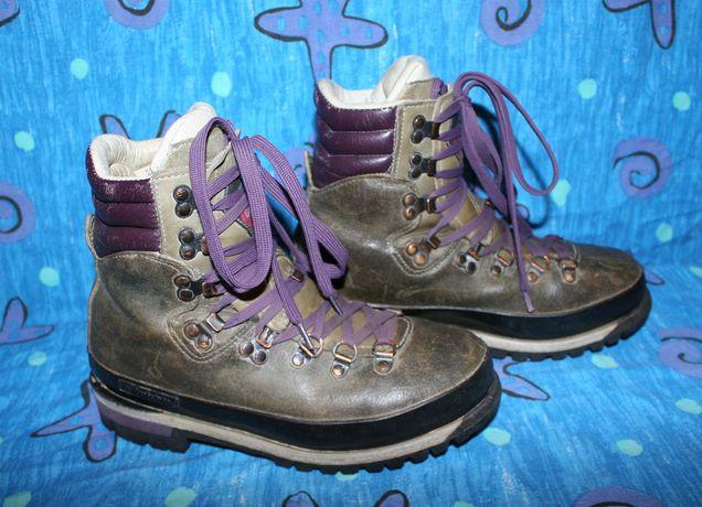 Горные кожаные зимние ботинки Raichle Switzerland 25.5 cм
