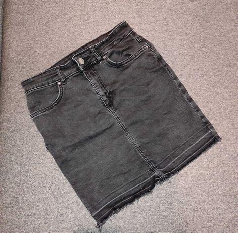 Spódniczka jeansowa pieces rozm 152/158