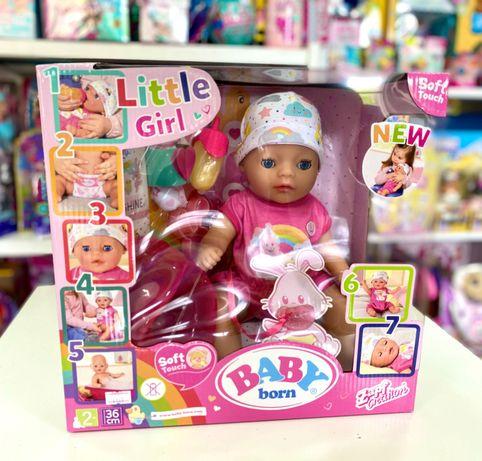 Кукла оригинал baby born zapf милая кроха