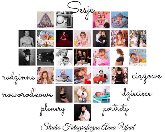 Fotograf -sesje rodzinne ,ciążowe ,noworodkowe, biznesowe, Chrzty