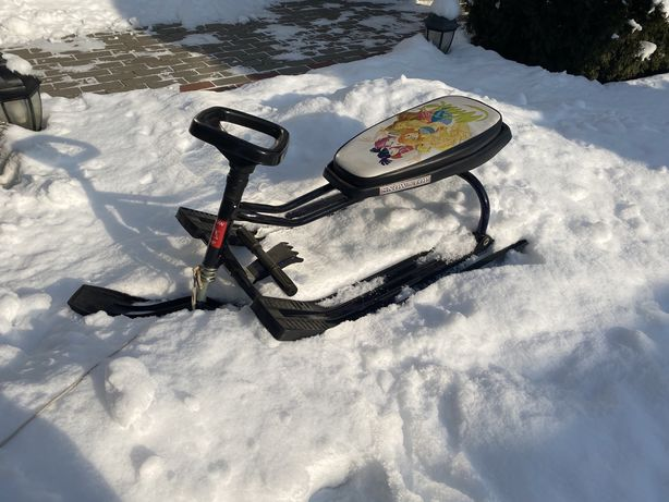 Продам санки-снегоходы с рулем