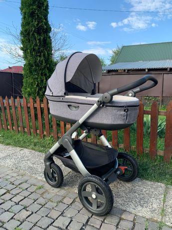 Stokke Trailz 3в1 (люлька, шасси, авто-кресло)