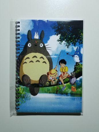 Тоторо Totoro anime блокнот аніме скетчбук аниме зошит тетрадь