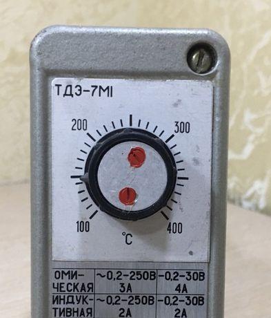 ТДЭ-7М1 Терморегулятор 100-400° С. Термостат/ТУДЭ/регулятор температур