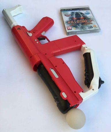 Karabin PlayStation Move Sharp Shooter + Killzone 3 Video-Play