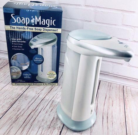 Сенсорный дозатор для мыла, мыльница Soap magicдиспенсер