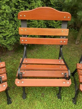 Krzesła ogrodowe Retro