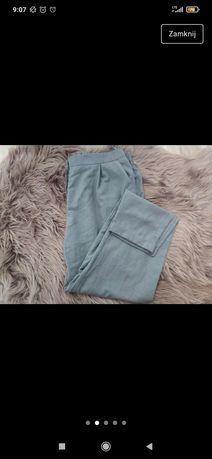 Szare spodnie cygaretki