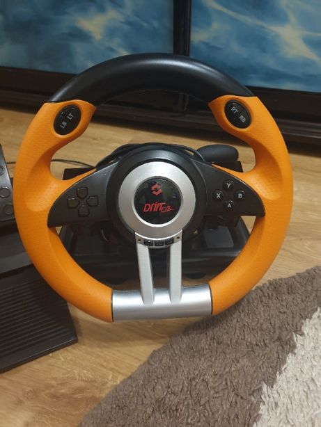 Продам новый руль для игр