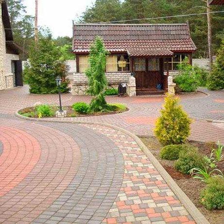 Тротуарная плитка от производителя:продажа,доставка, укладка