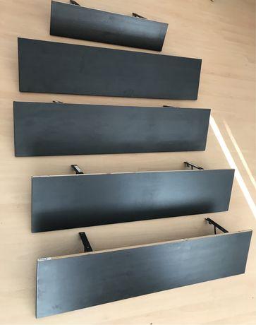 Półki Hemnes Ekby Ikea / wsporniki Ekby Hall Ikea