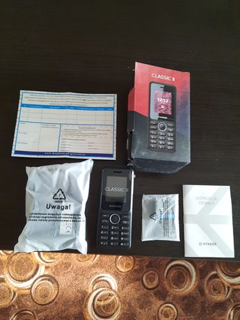 Do sprzedania NOWY Telefonik dla Seniora Hykker Classik 2, Dual SIM
