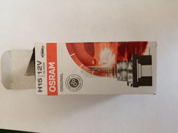 Лампа Osram H15 новая оригинал