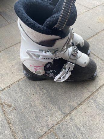 Narty+buty Salomon