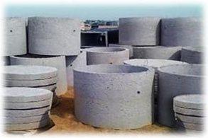 Кольца жби для колодца, септика, канализации, бетонные кольца