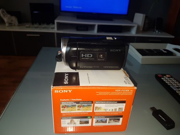 Kamera  Sony z  projektorem Sony HDR Pj 330 E
