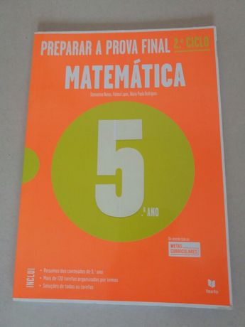 Preparar a Prova Final Matemática 5° Ano - Livro de Exercícios (novo)