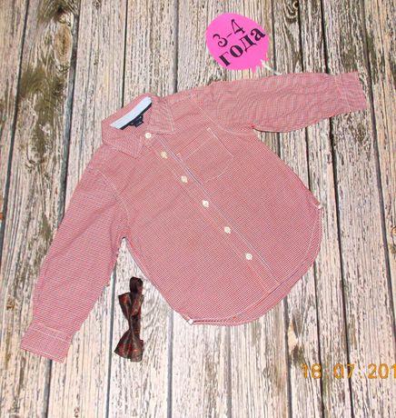 Красивая рубашка BabyGap для мальчика 3-4 года, 98-104 см