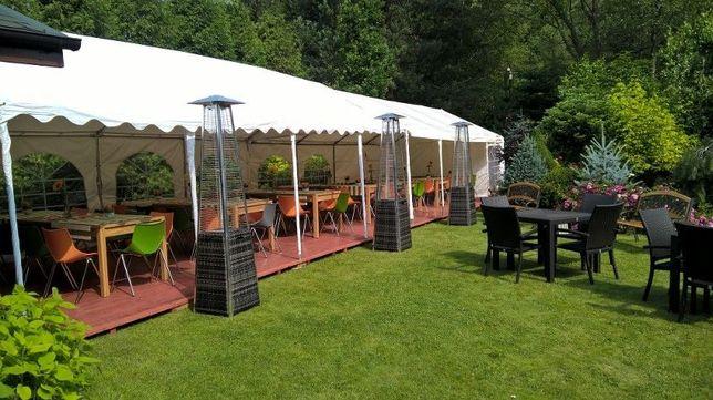 namioty do wynajęcia, podłoga,podesty, parasole grzybki gazowe