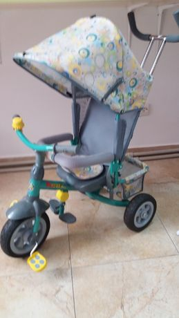Велосипед триколісний з батьківською ручкою Новий