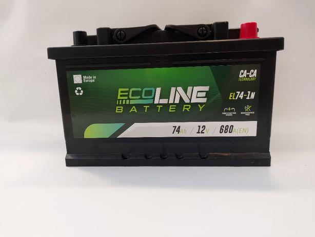 Akumulator 12V ECOLINE 74Ah 680A