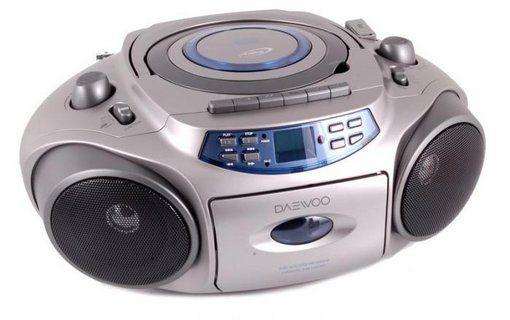 radioodtwarzacz boombox Daewoo SP-702AUS