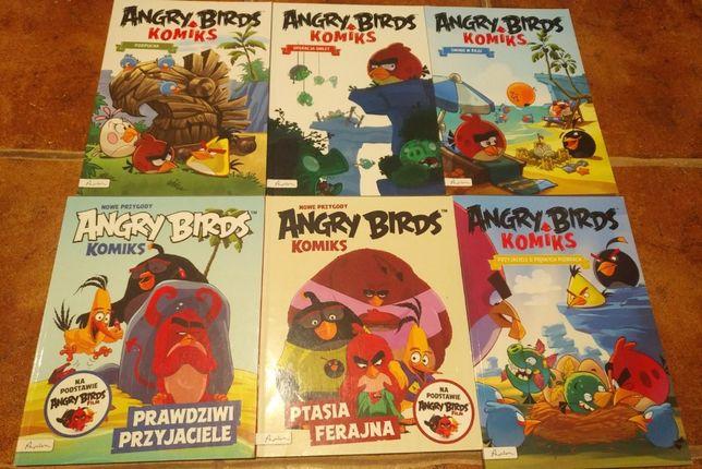 Angry Birds - zestaw 6 komiksów