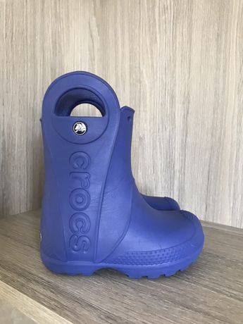 CROCS 8C Детские сапоги резиновые Kids' Handle It Rain Boot