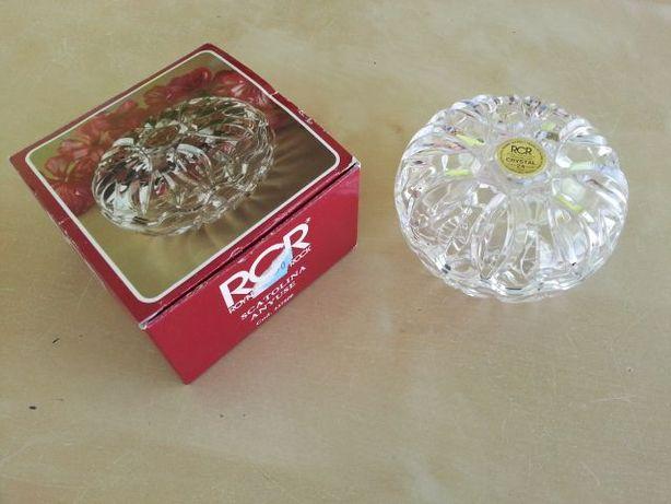 2 Peças decorativas em Cristal RCR