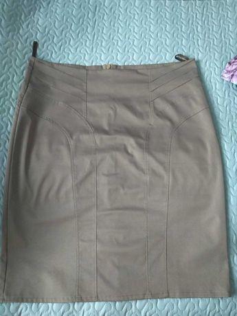 Spódnica rozmiar 48-50 (4-5XL) kolor brązowy