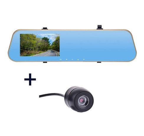 Видеорегитсратор зеркало заднего вида + камера заднего вида